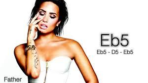 Demi Lovato's Vocal Range - Confident: Eb3 - Eb7 (5th Studio ...
