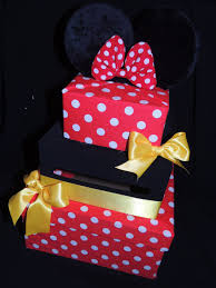 Decorating A Shoe Box Mickey Mouse Card Box Mickey Mouse Party Decorations Mickey 75