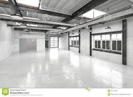 Overhead Lighting For Office Modern Office Atrium Or Hall Interior Stock Illustration