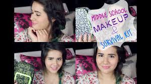 middle makeup survival kit