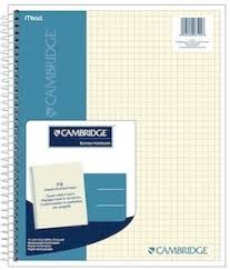 Cambridge Quad Notebook The Best Graph Paper Boing Boing