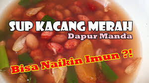 Masukkan wortel dan kacang merah lalu bumbui dengan biji pala. Resep Sup Kacang Merah Tanpa Daging Ala Dapur Manda Referensi Menu Sahur Di Bulan Ramadhan Youtube