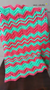 Crochet Patterns Blanket Extraordinary Crochet Blanket Pattern Chevron Flare Comes In Baby To King Size