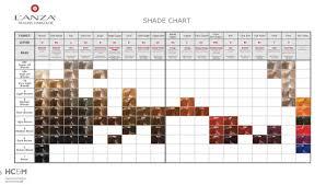 Lanza Healing Hair Color Chart Lanza Healing Haircare Healing Haircolor Shade Chart In