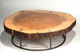 tree trunk coffee table glass top with base australia uk