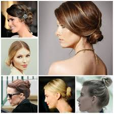 Hair Style Low Bun bun hairstyles for short hair 2016 2017 haircuts hairstyles and 8931 by wearticles.com