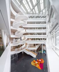Office Stairs Modern Staircases That Stand Out For Unique Reasons