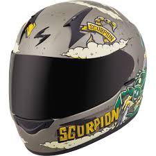 Scorpion Exo Exo R320 Moto Fink Full Face Helmet Titanium Xs 32 1012