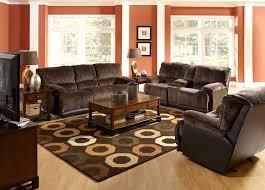 living room stunning brown living room decor brown painted wall brown rectangle rug dark brown