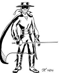 Download Zorro Da Colorare Per Bambini Disegni Da Colorare