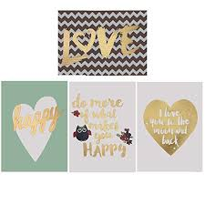 Cute Happy Quotes Simple Canvas Holiday Family Love Happy Cute Quotes Set Of 48 Soft Colors To