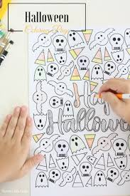 Small Picture Halloween Coloring Page Liz on Call
