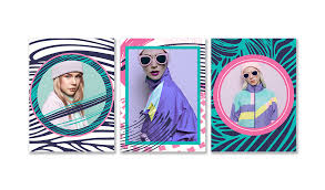80s craze frames by picsart photo editing and collage making app