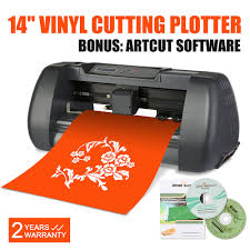 Best Vinyl Cutter VEVOR Cheap Table 24mm Vinyl Cutter Sticker Cutting Plotter Machine 18