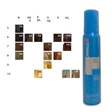 Goldwell 6rb Colour Chart Goldwell Colorance Soft Color Foam Colorant Mousse Color 6rb Mid Red Beech