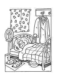 Heerlijk Slapen In Bed Sinterklaas Kleurplaten Kleurplaatcom
