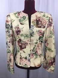 Vintage Ursula Of Switzerland Womens Waist Blazer Jacket Lines Size 12 Made Usa