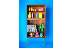 record bookcase vinyl g plan e mid century bookshelf with diy shelf pallet record storage rack