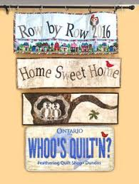 Row by Row on Pinterest | Quilt Shops, Ontario and Logos & Row by Row 2016 The Feathering Quilt Shop in Dundas Ontario Adamdwight.com