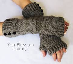 Crochet Gloves With Fingers Pattern