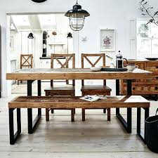 dining tables table set with bench corner kitchen rustic style of wooden wood dark room rustic reclaimed wood dining table