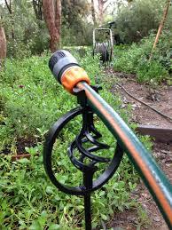 garden hose stakes. cool garden hose rack home design stakes n