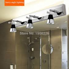 lighting for bathroom mirrors. 3 Plugs Modern Concise Stainless Steel Bathroom/ Toilet Lamps Mirror Cabinet Wall Lamp Led Light Night Lighting For Bathroom Mirrors