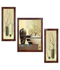 On The Wall Painting Ray Decor Abstract Wall Painting With Frame Buy Ray Decor