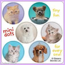 Dogs And Cats Stickers 48 Dots Reward Charts Birthday Rachael Hale Dot Ebay