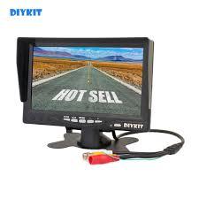DIYKIT 7 дюймов HD TFT <b>LCD</b> Автомобильный <b>Монитор дисплей</b> ...