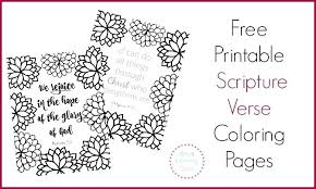 Free Bible Coloring Pages 712 Free Printable Scripture Verse