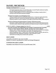 Financial Analyst Resume Finance Services Administrative Summary