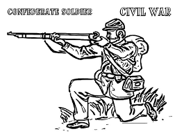 Small Picture Civil War Army Coloring Pages Bulk Color