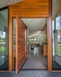 mid century modern front doorsMid Century Modern Hillsborough CA  AV Builders