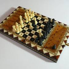 Old Wooden Game Boards Best Vintage Wooden Chess Set Products on Wanelo 55