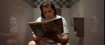 watch why do the characters in quentin tarantino s pulp fiction  video essay the bathroom theme in pulp fiction