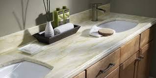bathroom countertop types we offer