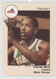 1989-90 ProCards CBA - [Base] #104 - Clinton Smith