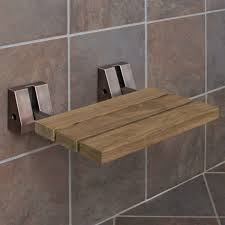 wooden shower seats wall mounted new wall mount teak folding shower seat using wrought iron bracket of