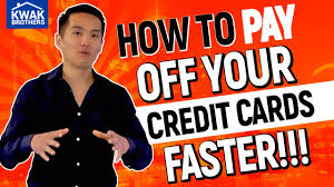how to pay off credit cards fast how to pay off your credit card fast