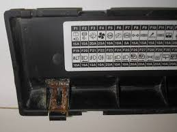 land rover fuse box cover lander fcl000300puy