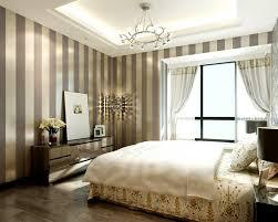 Striped Wallpaper Bedroom Cbaarch