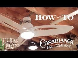 casablanca star how to install a ceiling fan casablanca homestead star starlet