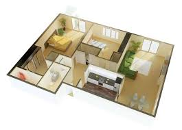 home bedroom design 2. 50 3d floor plans, lay-out designs for 2 bedroom house or apartment home bedroom design t
