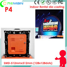 Making A Wall Cabinet P4 128x128 Pixel Led Rental Video Wall Cabinet Diy Making Led