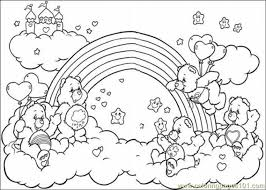 Small Picture Get This Easy Printable Care Bear Coloring Pages for Children la4xx