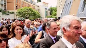 Inauguration du Khatchkar de l'église arménienne d'Issy-les-Moulineaux -  YouTube