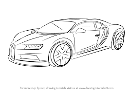 On behance | roadster car, concept. Learn How To Draw Bugatti Chiron Sports Cars Step By Step Drawing Tutorials