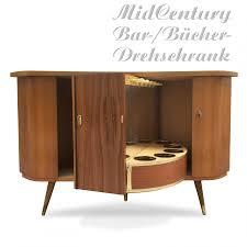 Vintage Barschrank 50er 60er Drehbare Retro Bar Midcentury