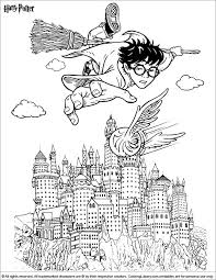 Small Picture 375 best Harry Potter colouring images on Pinterest Harry potter